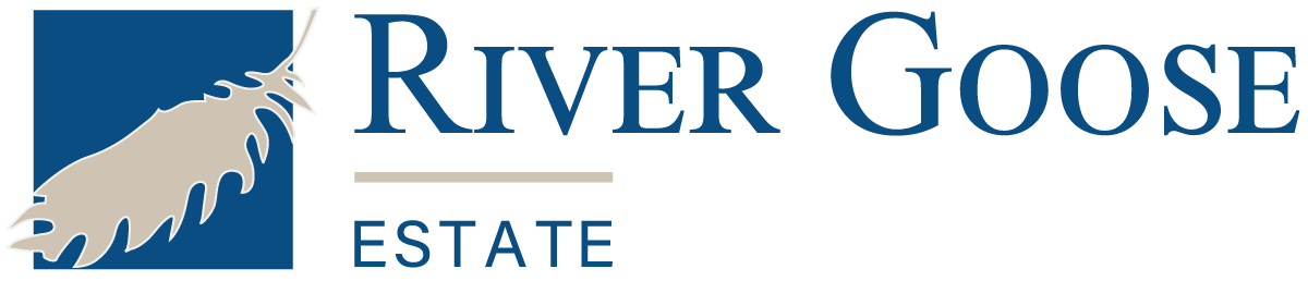 River Goose Estate website header logo